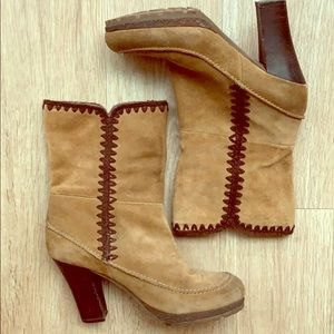 """3"""" suede boots"""